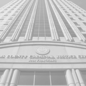 The Harris County Criminal Justice Center